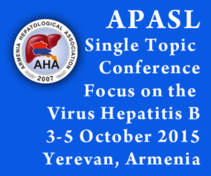 APASL Single Topic Conference Focus on the Virus Hepatitis B 3-5 October 2015 Yerevan, Armenia