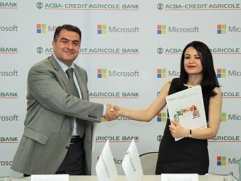 Microsoft–ը և ԱԿԲԱ-ԿՐԵԴԻՏ ԱԳՐԻԿՈԼ ԲԱՆԿԸ կաջակցեն ՓՄՁ-ների թվայնացմանը