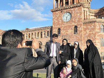 Поcле снятия виз растёт 1-дневный туризм из Ирана в Армению