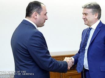 Премьер Армении и вице-премьер Грузии поспособствуют росту товарооборота между странами