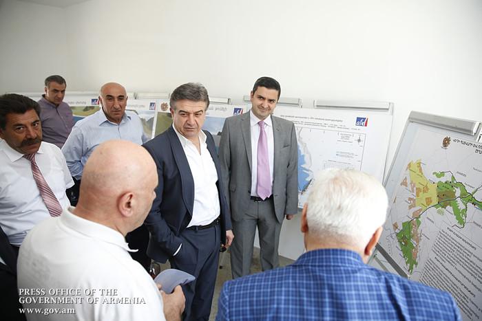 У вас есть большие возможности, роста на уровне 10-15% недостаточно: совещание премьера Армении в Араратской области