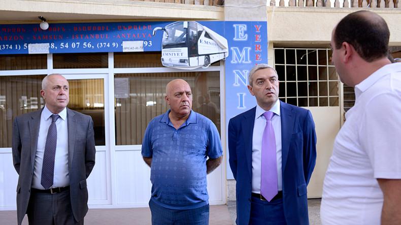 Автовокзалы Еревана планируют перейти к системе продажи электронных билетов