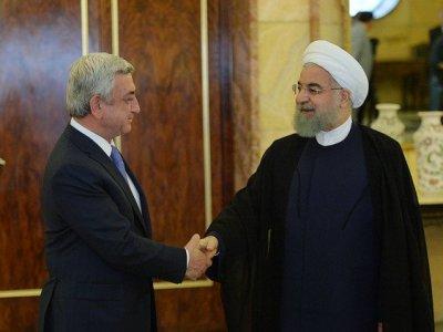 Посол: Саргсян и Роухани выразили надежду на скорое подписание торгового соглашения ЕАЭС - Иран