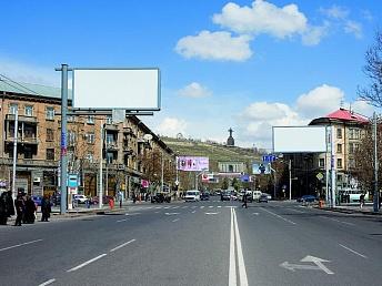Правила проезда транспорта будут изменены на двух оживленных перекрестках Еревана