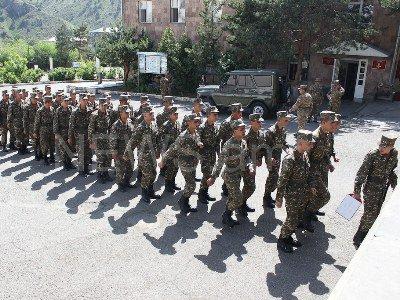 Министерство обороны Армении объявляет конкурс для призывников