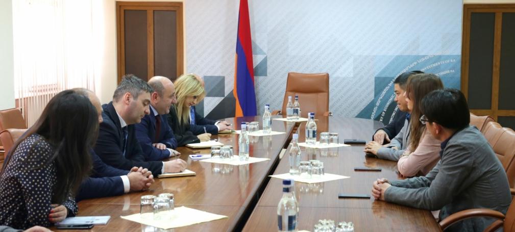 Китайские инвесторы намерены заняться в Армении производством воды