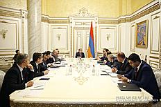 Խորհրդակցության ընթացքում քննարկվել են Հայաստան-Վրաստան էլեկտրահաղորդիչ գծի կառուցման ծրագրին վերաբերող հարցեր