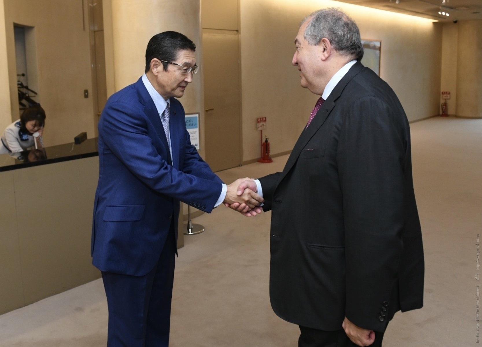 Հայաստանն ու Ճապոնիան սննդի արդյունաբերության ոլորտում համագործակցության ներուժ ունեն. նախագահ Սարգսյանն այցելել է Asahi Group