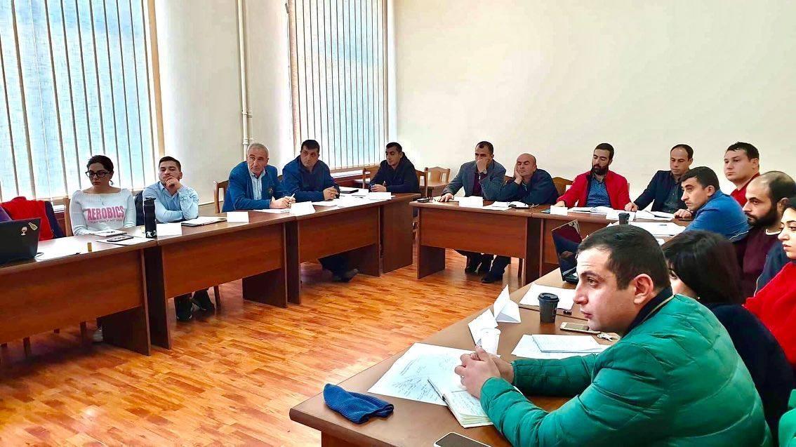 ՀԽԳՀ-ի նախաձեռնությամբ Երևանում ընթանում են խաղողագործների վերապատրաստման tot (training of trainers) ծրագրով նախատեսված դասընթացները