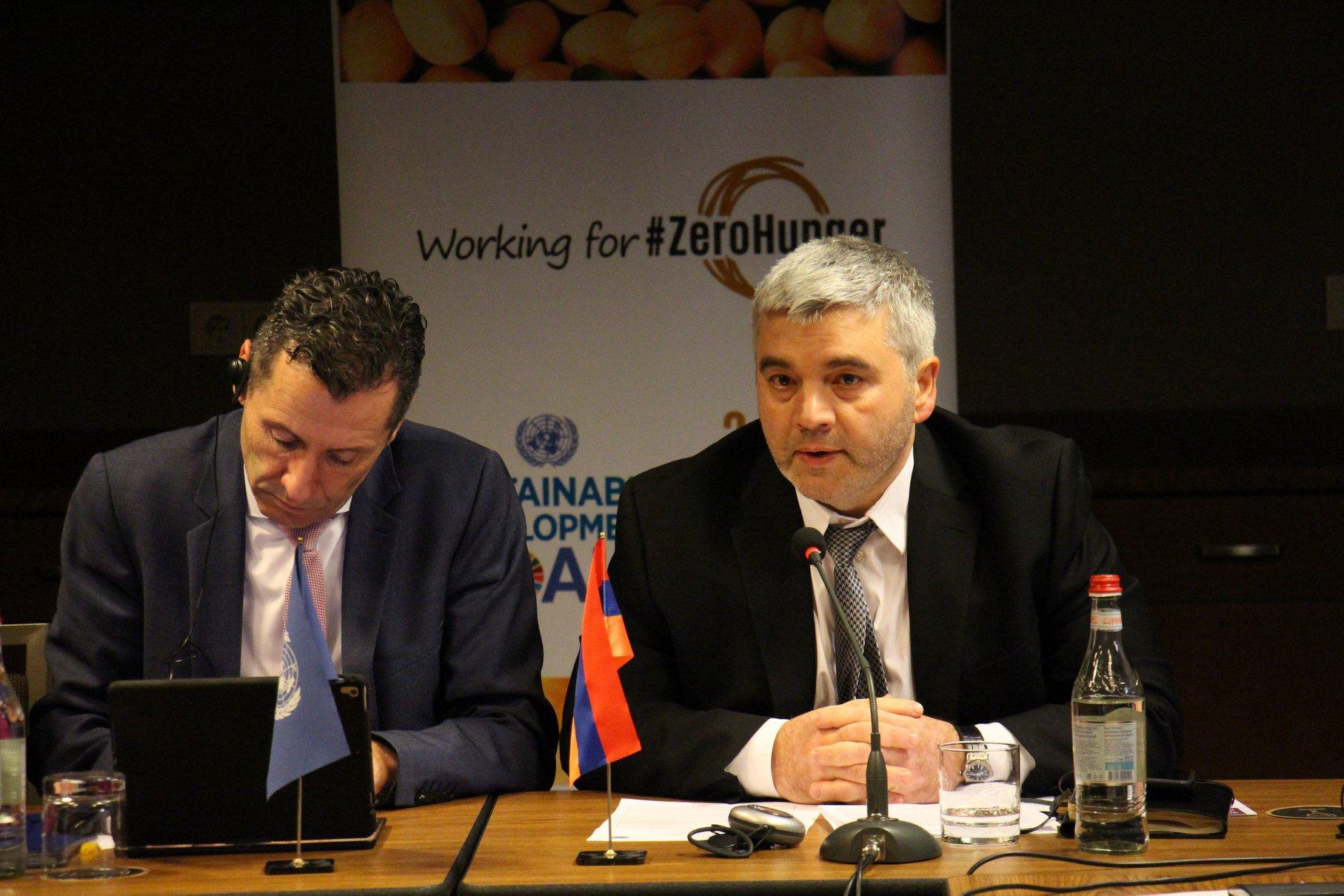 Հայաստանում կիրագործվի գյուղատնտեսական նշանակության չօգտագործվող հողերի խնդիրների լուծմանն ուղղված ծրագիրը