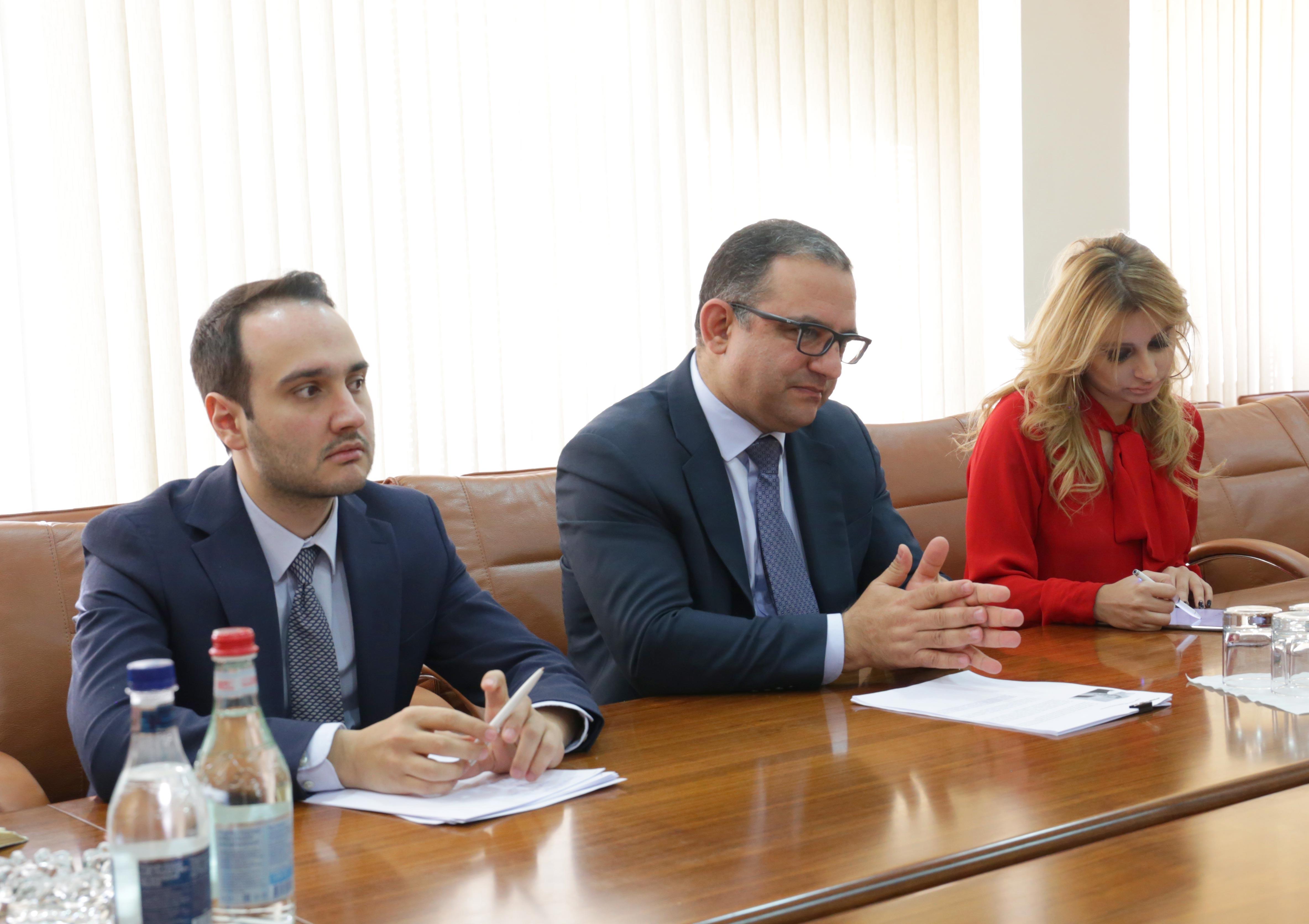 Տիգրան Խաչատրյանը և ՏՀԶԿ գլխավոր քարտուղարի տեղակալը քննարկել են Հայաստանի ներդրումային դաշտի ուսումնասիրման հնարավորությունները