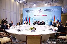 Անհրաժեշտ է ակտիվացնել ԵԱՏՄ էներգետիկ և տրանսպորտային ընդհանուր շուկաների ստեղծմանն ուղղված ջանքերը. վարչապետն Ալմաթիում մասնակցել է Եվրասիական միջկառավարական խորհրդի նիստին