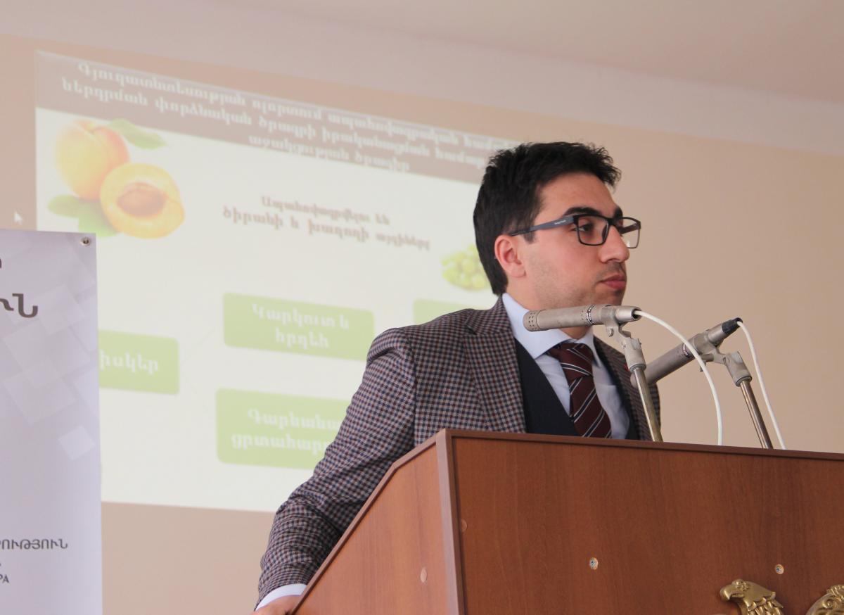 Արմավիրի մարզում ներկայացվել են գյուղոլորտում իրականացվող պետական օժանդակության ծրագրերը