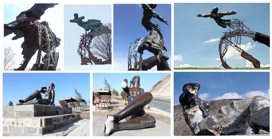 Գործուն քայլեր են իրականացվում Երևան-Սևան մայրուղու հարևանությամբ վեր խոյացող «Արձագանք» և «Անվերջության ժապավեն» քանդակների վերականգնման ու վերատեղադրման ուղղությամբ