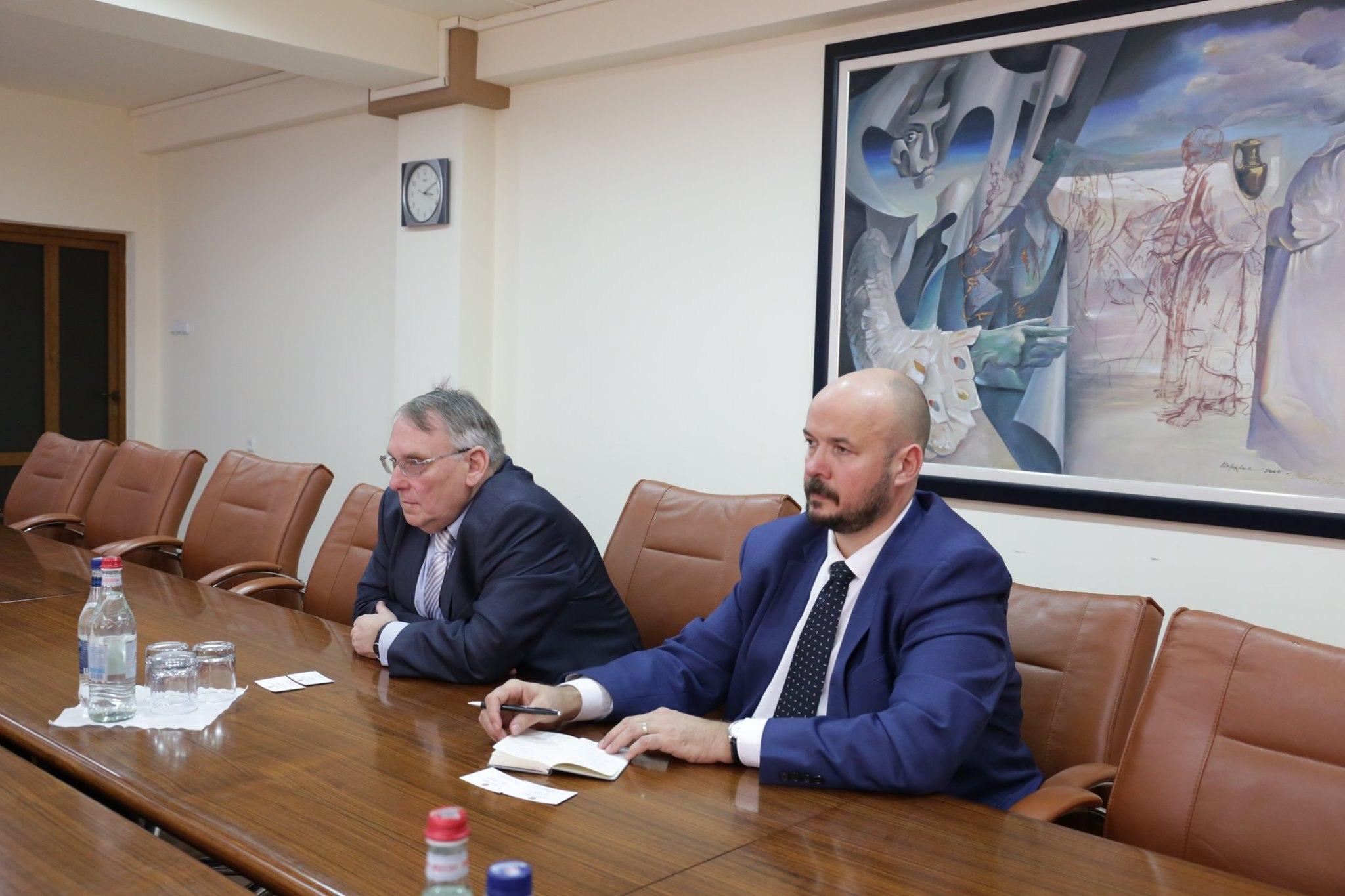 Քննարկվել են հայ-չեխական տնտեսական համագործակցության ակտիվացմանն առնչվող հարցեր