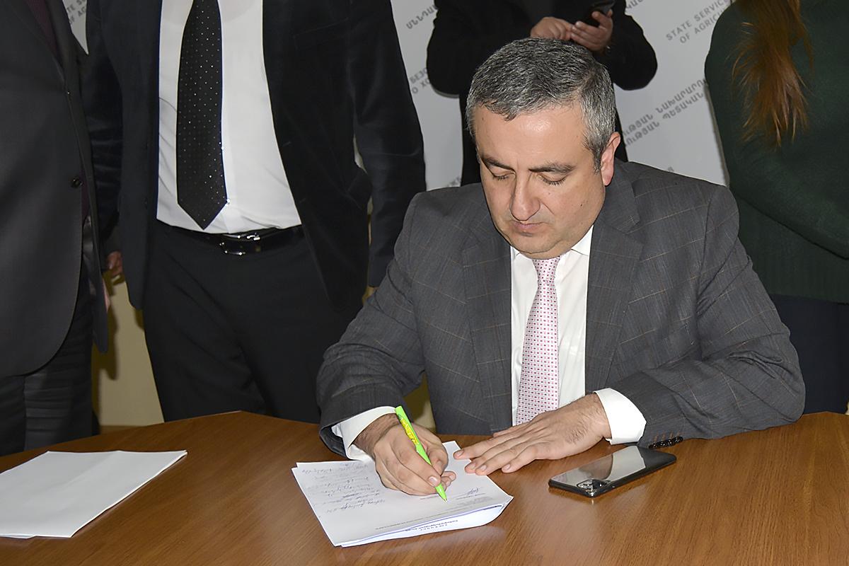 ՍԱՏՄ ղեկավարը և սպանդանոցների ներկայացուցիչները ստորագրել են հուշագիր