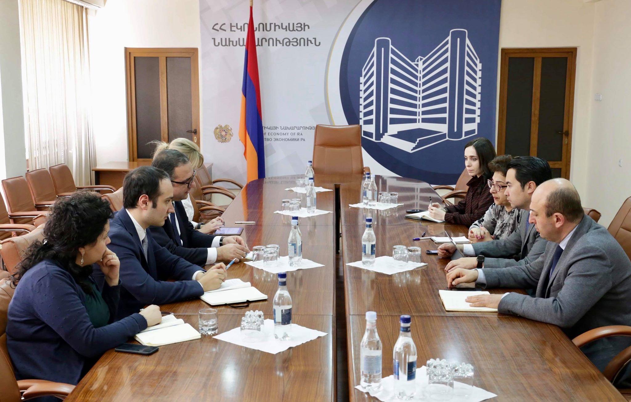 Համաշխարհային բանկի թիմը Հայաստանում է՝ քննարկելու գործարար միջավայրի բարեփոխումների օրակարգը