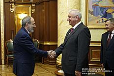 Վարչապետ Փաշինյանը և Միխայիլ Մյասնիկովիչը քննարկել են ԵԱՏՄ շրջանակում համագործակցության հետագա զարգացմանն ուղղված հարցեր