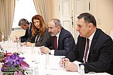 Հայաստանի վարչապետն ու Հյուսիսային Մակեդոնիայի նախագահը քննարկել են երկու երկրների տնտեսական փոխգործակցության խթանմանը վերաբերող հարցեր