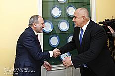 Նիկոլ Փաշինյանը հանդիպումներ է ունեցել Բուլղարիայի վարչապետ Բոյկո Բորիսովի և Լատվիայի նախագահ Էգիլս Լևիցի հետ