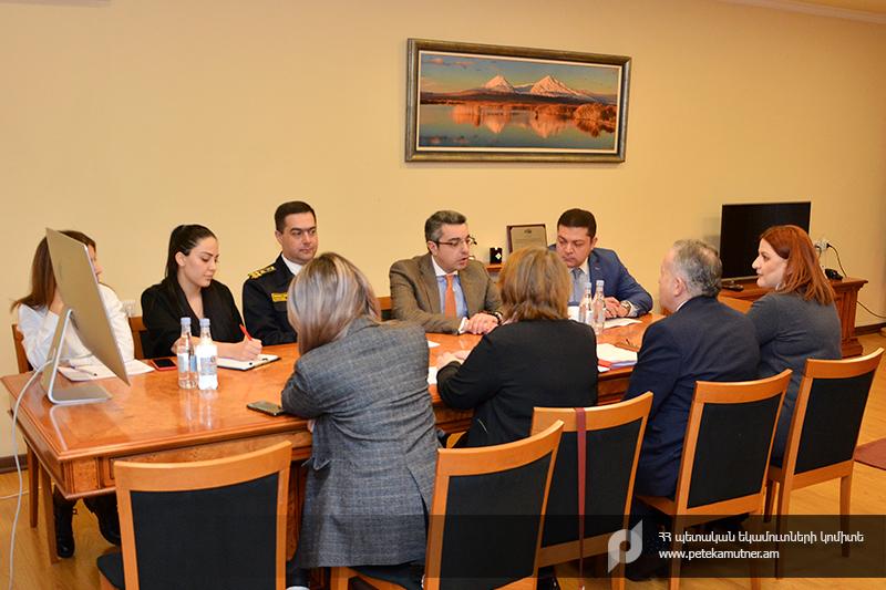 Համաշխարհային մաքսային կազմակերպության փորձագետների  այցը՝ Պետական եկամուտների կոմիտե