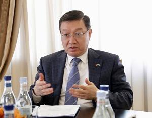 Միջկառավարական հանձնաժողովը՝ որպես առևտրատնտեսական կապերի զարգացման արդյունավետ հարթակ. Տիգրան Խաչատրյանն ընդունել է Ղազախստանի դեսպանին
