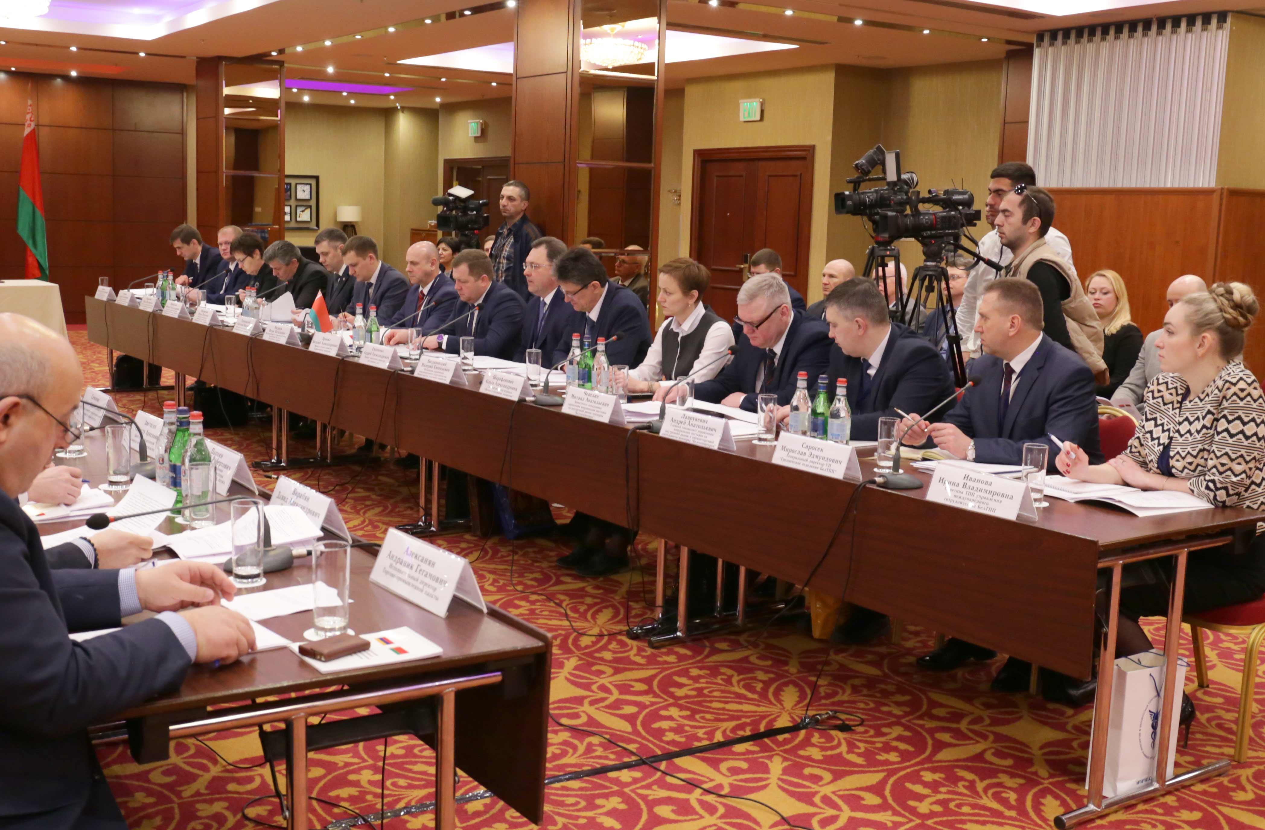 Հայ-բելառուսական առևտրատնտեսական համագործակցությանը նոր թափ կհաղորդվի․ կայացել է հայ-բելառուսական միջկառավարական հանձնաժողովի 14-րդ նիստը