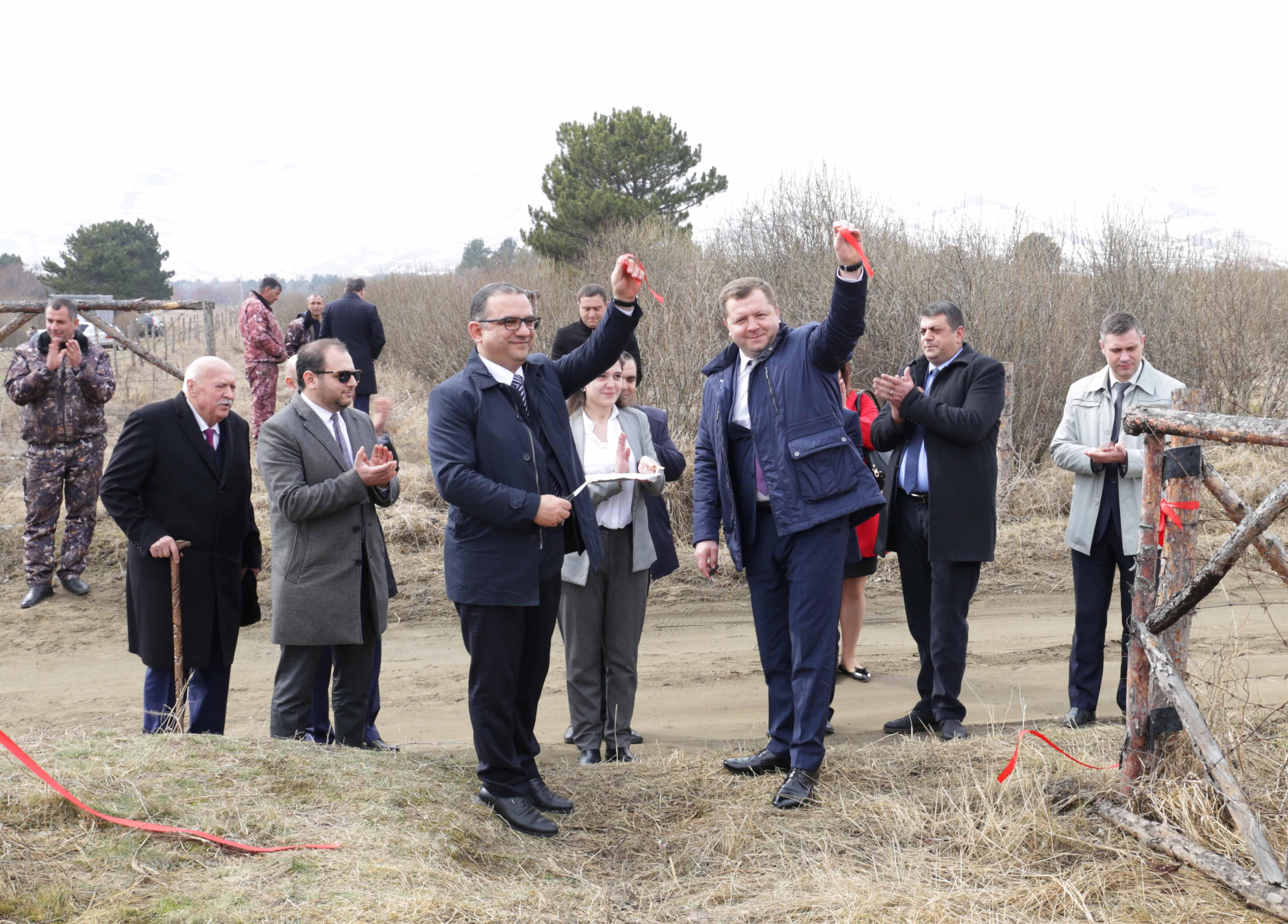 Սևան ազգային պարկի տարածքում հանդիսավոր բացվել է հայ-բելառուսական բարեկամության անտառը