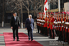 Վերջին մեկուկես տարվա ընթացքում հաջողվել է Վրաստանի հետ համագործակցությանը նոր որակ հաղորդել. տեղի է ունեցել Նիկոլ Փաշինյանի և Գիորգի Գախարիայի հանդիպումը