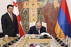 Նիկոլ Փաշինյանը և Արչիլ Թալակվաձեն հայ-վրացական հարաբերություններում ընդգծել են միջխորհրդարանական ակտիվ երկխոսության կարևորությունը