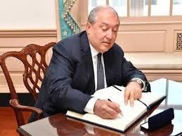 Նախագահ Արմեն Սարգսյանը ստորագրել է մի շարք օրենքներ