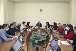 ՀՀ ԱԺ առողջապահության եւ սոցիալական հարցերի մշտական հանձնաժողովի արտահերթ նիստում