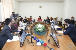 ՀՀ ԱԺ մարդու իրավունքների պաշտպանության եւ հանրային հարցերի մշտական հանձնաժողովի նիստում