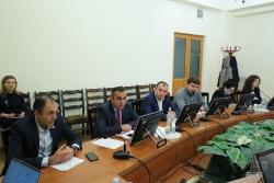 Ֆինանսավարկային եւ բյուջետային հարցերի մշտական հանձնաժողովի նիստում