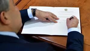 Նախագահ Արմեն Սարգսյանը ստորագրել է «1994 թվականի սեպտեմբերի 9-ի Եվրասիական արտոնագրային կոնվենցիային կից «Արդյունաբերական նմուշների պահպանության մասին»» արձանագրությունը վավերացնելու մասին օրենքը