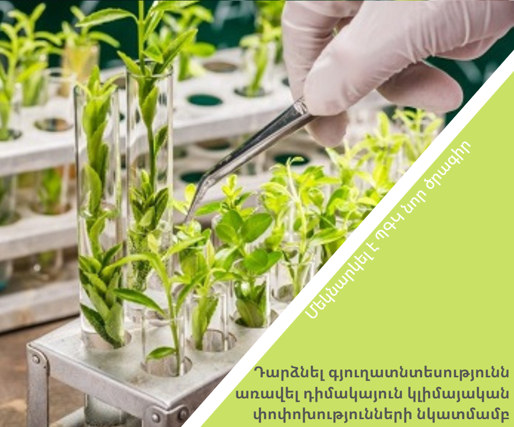 Դարձնել գյուղատնտեսությունն առավել դիմակայուն կլիմայական փոփոխությունների նկատմամբ․ մեկնարկել է ՊԳԿ նոր ծրագիրը