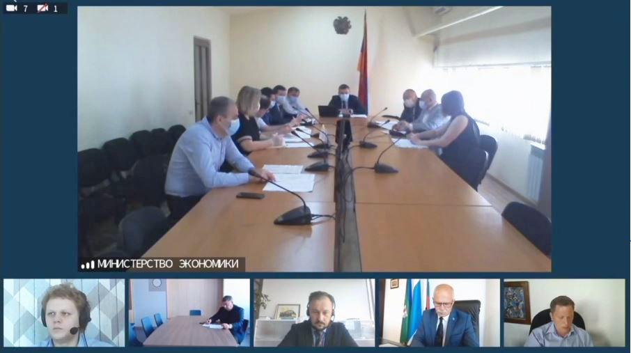 Քննարկվել են ՌԴ Սվերդլովսկի մարզի հետ առևտրատնտեսական համագործակցության հեռանկարները