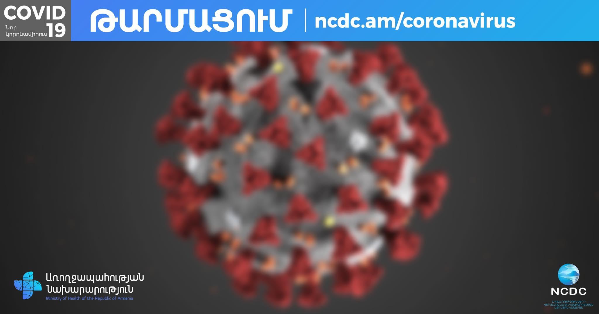Կորոնավիրուսային հիվանդության իրավիճակը երկրում