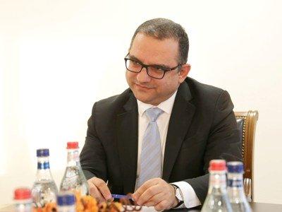 Տիգրան Խաչատրյանը և Անդրեա Վիկտորինը քննարկել են ԵՄ-Հայաստան փոխգործակցության ընդլայնման հնարավորությունները