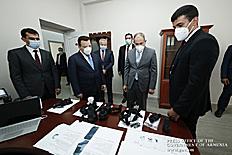 Վարչապետն այցելել է Հայաստանում բացված «Կալաշնիկով» ինքնաձիգի արտադրամաս