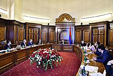 Վարչապետի մոտ քննարկվել է ՊԵԿ զարգացման և վարչարարության բարելավման ռազմավարական ծրագիրը