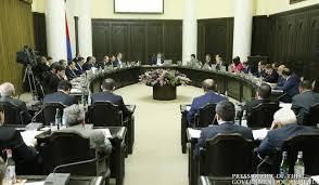 Կառավարության նիստի օրակարգ  (ուղիղ)