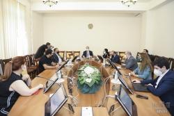 Հանձնաժողովի նիստում քննարկվել է դատավորի կենսաթոշակի չափի սահմանման հարցը