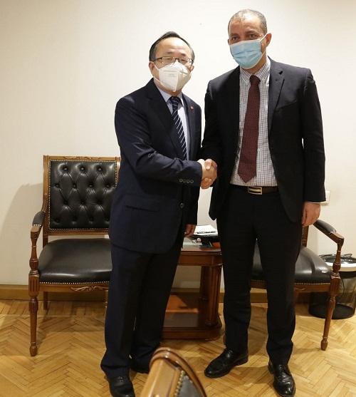 ՀՀ էկոնոմիկայի նախարարը հանդիպում է ունեցել Հայաստանում ՉԺՀ նորանշանակ արտակարգ և լիազոր դեսպանի հետ