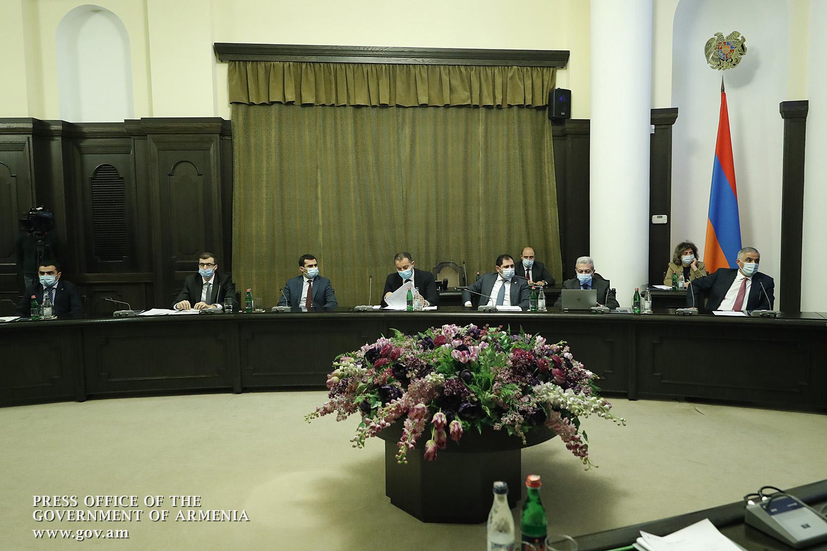 Կայացել է ՀՀ կառավարության հերթական նիստը