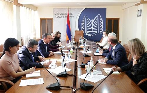 ՀՀ էկոնոմիկայի նախարարը և Հայաստանում ՄԱԿ-ի մշտական համակարգողը վերահաստատել են համագործակցության խորացման պատրաստակամությունը