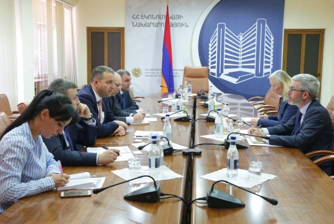 Վահան Քերոբյանը և Հայաստանում Շվեդիայի դեսպանը քննարկել են համագործակցության օրակարգային հարցեր