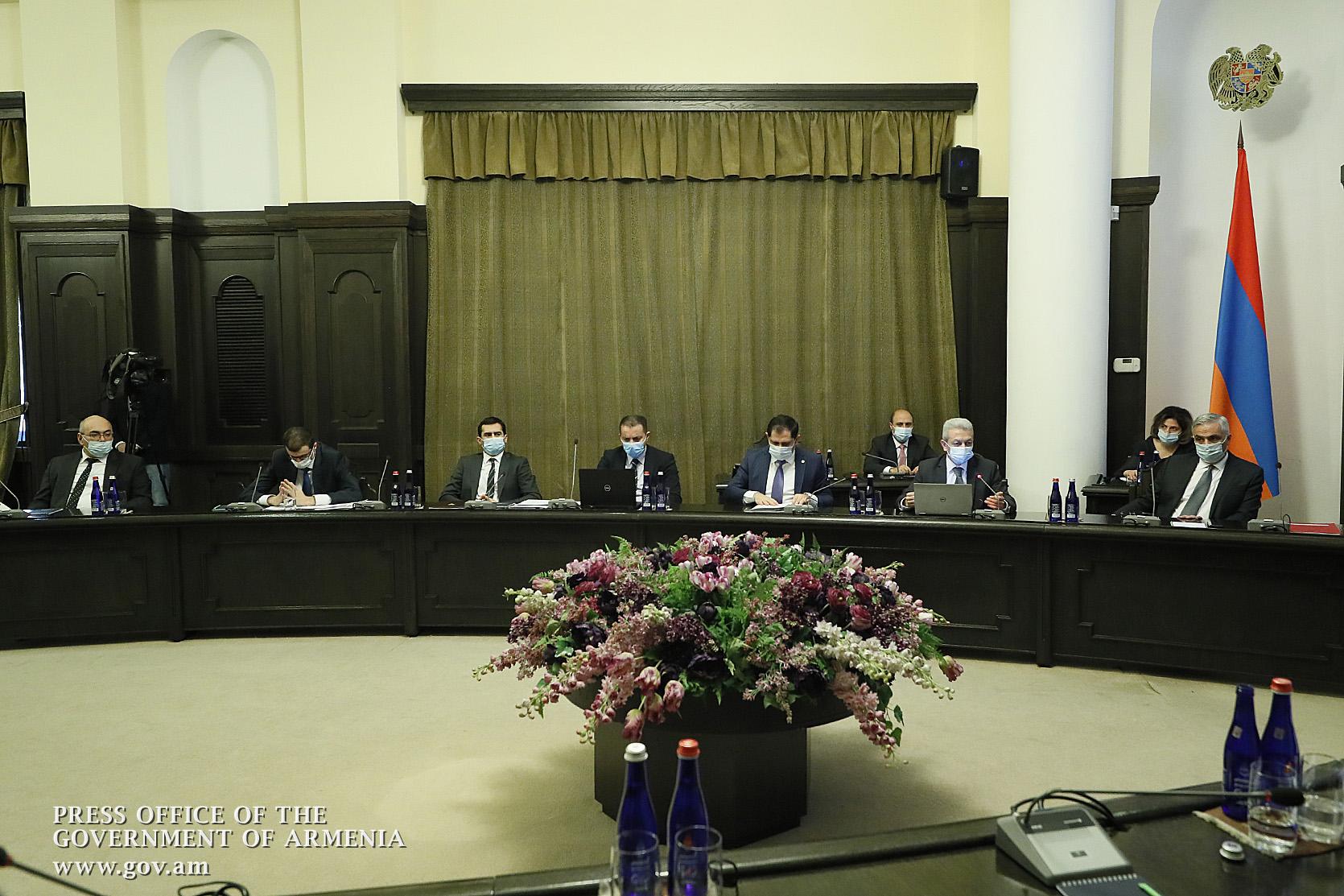 Տեղի է ունեցել ՀՀ կառավարության հերթական նիստը․Գործադիրը հաստատել է Տնտեսական արձագանքման ծրագիրը և գործողությունների պլանը