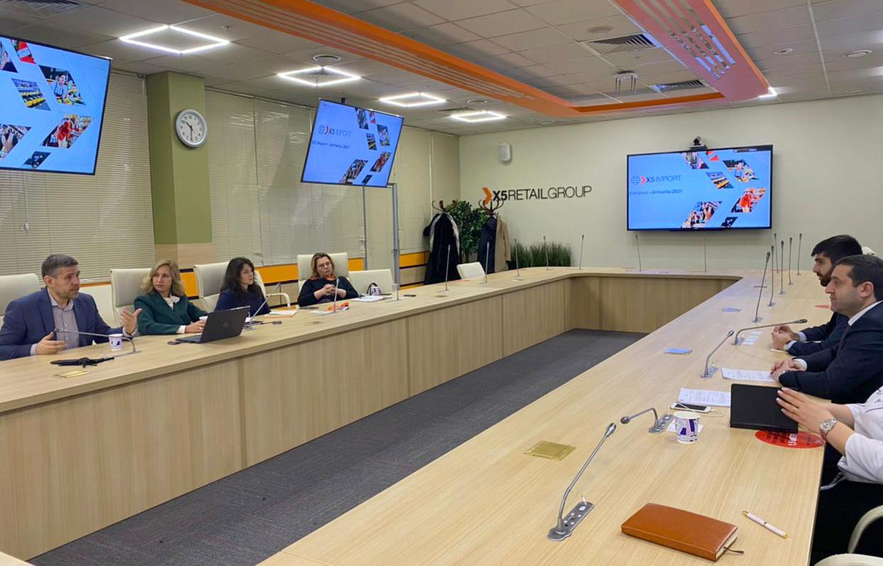 Արման Խոջոյանը մի շարք հանդիպումներ է ունեցել Ռուսաստանի Դաշնության գործարար շրջանակների հետ