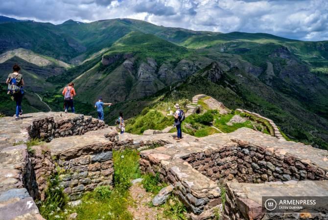 Հայաստան այցելած զբոսաշրջիկներից ամենաշատը եղել են Ռուսաստանի, Իրանի և Վրաստանի քաղաքացիներ